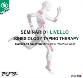Seminario I Livello Kinesiology Taping