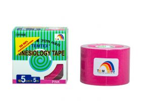 Kinesiology Tape 5cm x 5mt Colore FUCSIA (6 Pezzi)