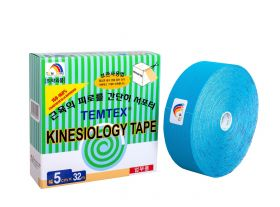 Kinesiology Tape 5cm X 32mt Colore BLU